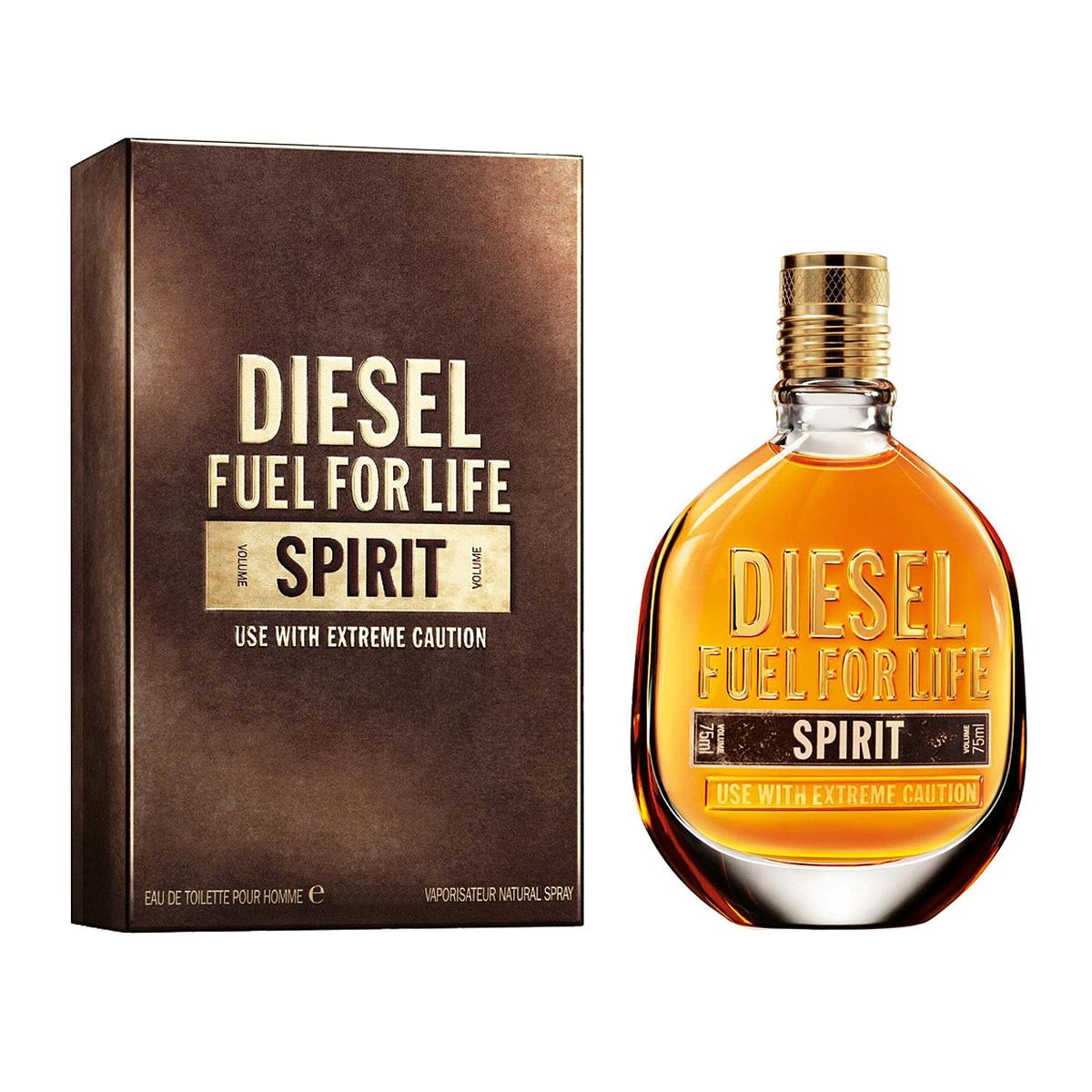 Diesel Fuel for Life Spirit (M) Тестер 75ml edt