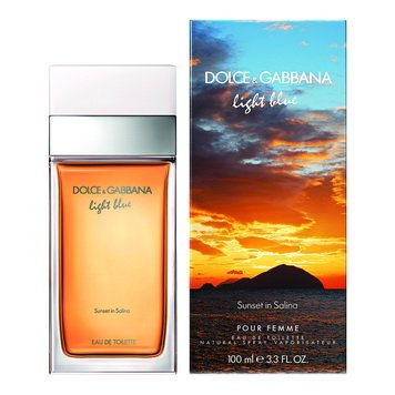 Dolce & Gabbana - Light Blue Sunset in Salina